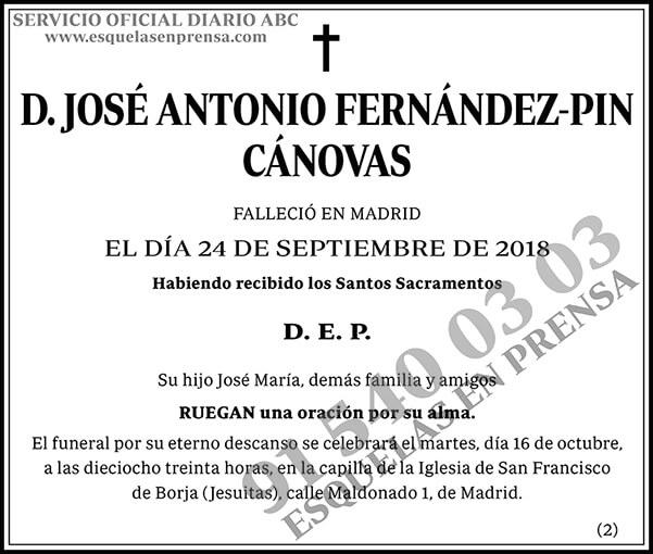 José Antonio Fernández-Pin Cánovas